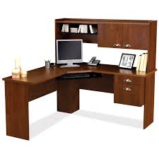 Wooden Computer Desk With Hutch by Corner Computer Desk Home Design By Larizza