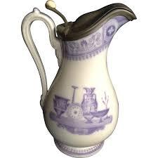 Jug Vases Mayer U0026 Elliot Pitcher U0027etruscan Vases U0027 Jug Ironstone Pewter Cover