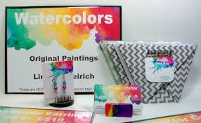 how to make business cards and craft fair packaging