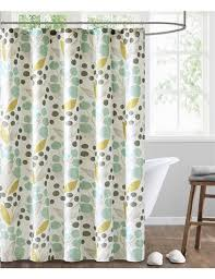 Teal And Yellow Curtains Modern And Luxury Shower Curtains Echo Design