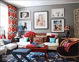 Best Living Rooms Images On Pinterest Living Room Ideas - Red and blue living room decor