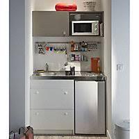 bloc cuisine compact kitchenette cuisine complète et meuble sous évier castorama