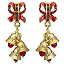images of christmas earrings christmas sleigh bells ringing earrings christmas earrings