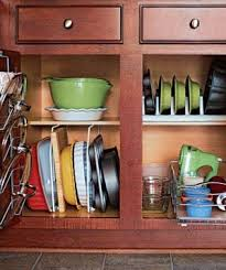 Kitchen Cabinet Organizer Ideas 24 Smart Organizing Ideas For Your Kitchen Real Simple