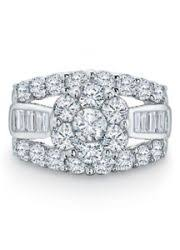 zales outlet engagement rings emerald cut lab created blue sapphire and accent ring in