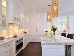 White Paint Kitchen Cabinets Decorating Modern Pendant Lighting With White Paint Kitchen