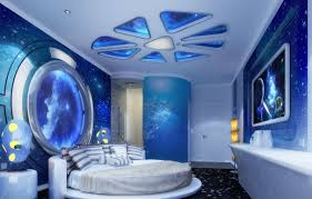 Outer Space Curtains Kids by Bedroom Appealing Cool Kids Space Themed Bedroom 1000 Images