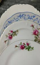 mismatched plates wedding shabby chic plates ebay