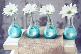 decorate your house with beautiful mini bud vases home design by