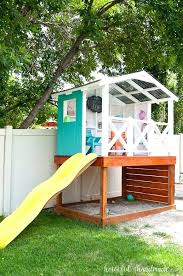 Backyard Playhouse Ideas Backyard Clubhouse Plans Best Backyard Playhouse Ideas On