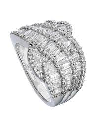diamond jewellery rings images Cocktail baguette diamond ring carat crush jpg