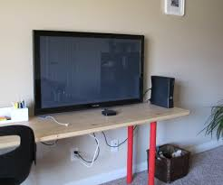 How To Make A Tv Wall Mount French Cleat Monitor Tv Mount 6 Steps With Pictures