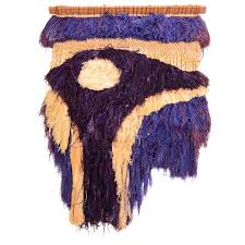 Heaven Antiques And Custom Furniture Los Angeles Ca California Fiber Art Textile Wall Mounted Sculpture By Margo O