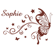 stickers chambre b b personnalis stickers papillon chambre bebe maison design bahbe com