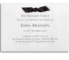 funeral service announcement wording funeral announcement card 12