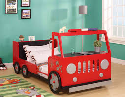 Fire Engine Bed Bedroom Diy Firetruck Bed Fire Truck Loft Bed Curtain Fire