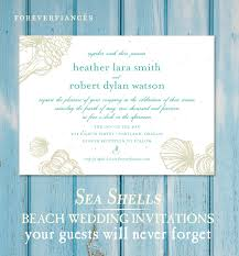 wedding invitations san diego seashell wedding invitations on seeded paper sea shell by