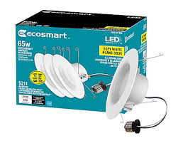 bright led light bulbs eco smart 65w 3000k bright white 5 inch 6 inch recessed dimmable