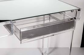 Acrylic Vanity Table Acrylic Vanity Table Lucite Vanity Table At 1stdibs Lucite