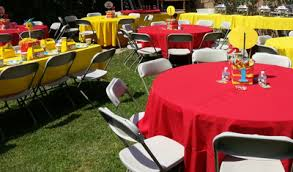 tablecloths and chair covers tablecloths linens chair covers for rent big blue sky party