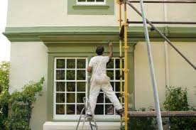 Exterior House Painting Preparation - preparing for exterior painting photo image how to paint exterior
