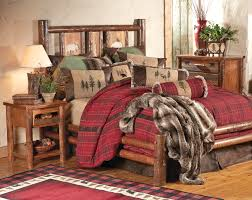 Sumter Bedroom Furniture by Rustic Bedroom Interior Design Ideas With Pine Wood Log Frame