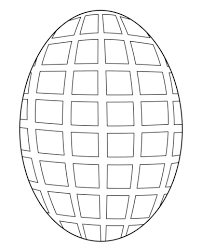 egg mosaic coloring page free printable coloring pages