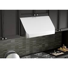 kitchen ductless range hood insert to remove smoke and odor also