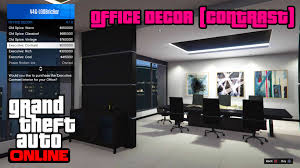 gta 5 online ps4 office decor contrast youtube