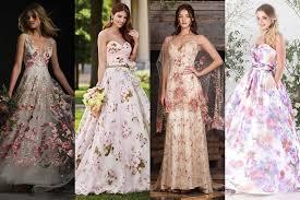floral wedding dresses floral wedding dresses brides magazine 2017 bridesmagazine co uk