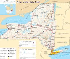 New York Counties Map Road Map Of New York With Cities Map Of New York State Map Of Usa