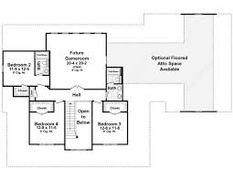 2nd floor plan featured house plan pbh 7777 professional builder house plans