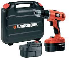 black u0026 decker cordless 18v combi drill 2 batteries departments