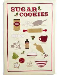 sur la table kitchen towels sugar cookies and gingbread kitchen towels baking bites