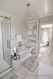 Crystal Bathroom Mirror Amazing Bathroom Chandelier Above The Bathroom Mirror Vanity
