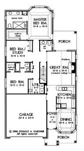 narrow house plans for narrow lots mediterranean house plan 1 story waterfront style floor