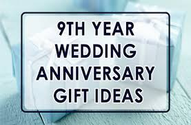 9th anniversary gift ideas 9th year wedding anniversary gift style by modernstork