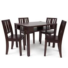 Kids Wood Table And Chair Set Child Wooden Table And Chairs Wooden Chairs