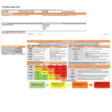 jsa job safety analysis form template download for word and