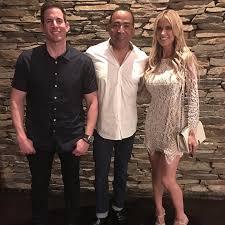 Tarek And Christina Split Christina And Tarek El Moussa U0027s Dinner With Tim Storey Popsugar Home
