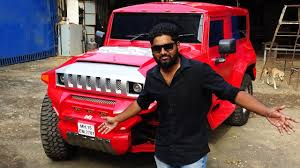 thar jeep modified in kerala indian hummer mahindra thar modified 2017 youtube