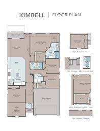 Family Floor Plans Kimbell Model At 5424 Connally Drive