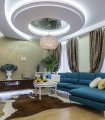 modern interior home ceiling modern living room interior design with circular ceiling