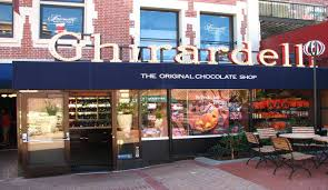 San Francisco Sightseeing Map by Ghirardelli Chocolate Is An Iconic San Francisco Brand Bay City