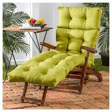 greendale home fashions 72 x 22 in outdoor chaise lounge cushion