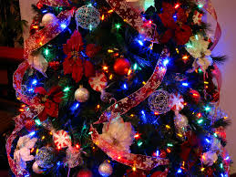 close up of the candy cane christmas tree multicolor led u2026 flickr