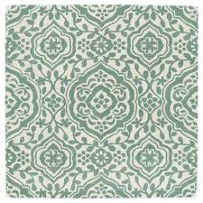 Mint Rug Square Kaleen Area Rugs Rugs The Home Depot