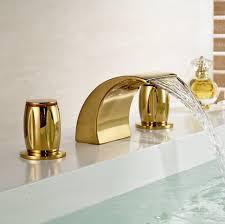 bathroom faucets 39 outstanding waterfall bathroom sink faucet