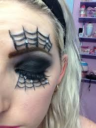 Spider Makeup For Halloween by Spider Web Eye Makeup Spider Web Makeup Youtube Face Makeup Ideas