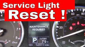 lexus ct200 warning lights reset maintenance required warning toyota lexus youtube